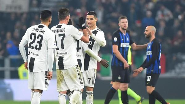 Hasil Juventus vs Inter Milan: Bianconeri Unggul tipis 1-0