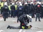 Polisi Tangkap 70 Orang Massa Rompi Kuning di Belgia