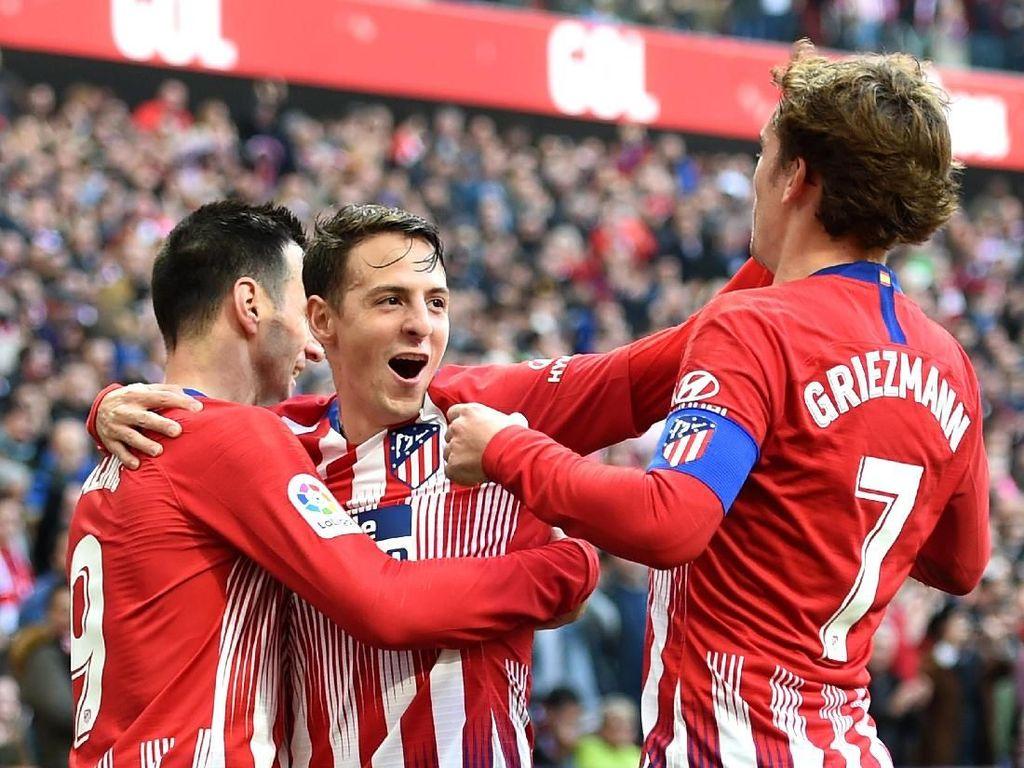 Hasil Liga Spanyol: Atletico Madrid Hantam Alaves 3-0