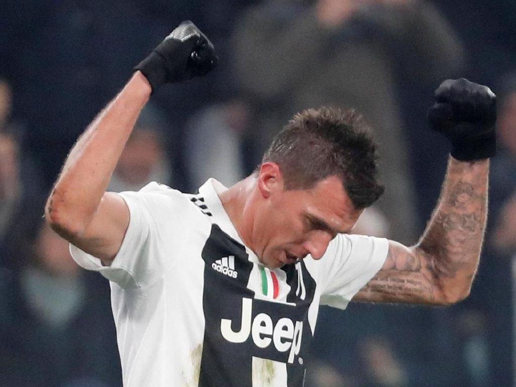 Salam Perpisahan Mandzukic dan Juventus yang Mengharukan