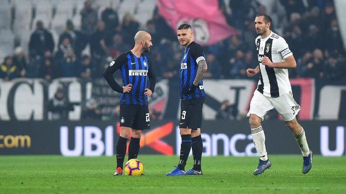 Inter Milan kalah 0-1 saat melawat ke Juventus (REUTERS/Massimo Pinca)