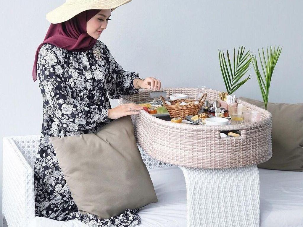 Jadi Presenter Traveling, Indah Nada Puspita Punya Banyak Momen Kuliner Seru