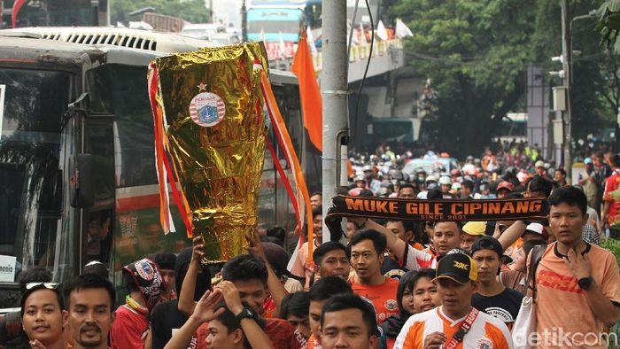 Persija Jakarta dituduh terlibat match fixing. (Foto: Rifkianto Nugroho)