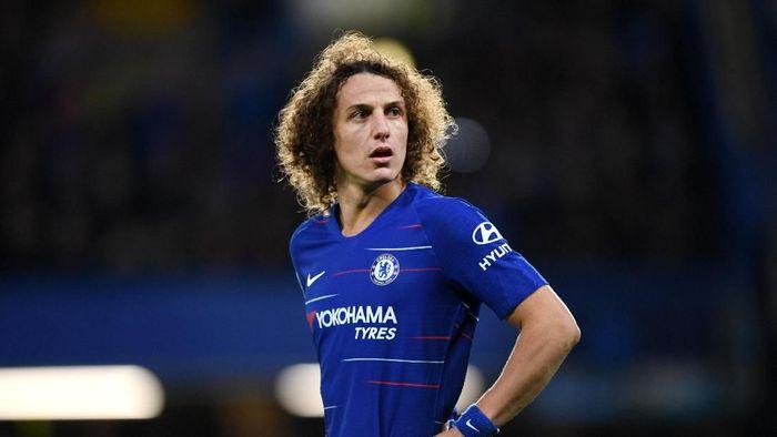 David Luiz mencetak satu gol saat Chelsea mengalahkan Manchester City (Foto: Shaun Botterill/Getty Images)