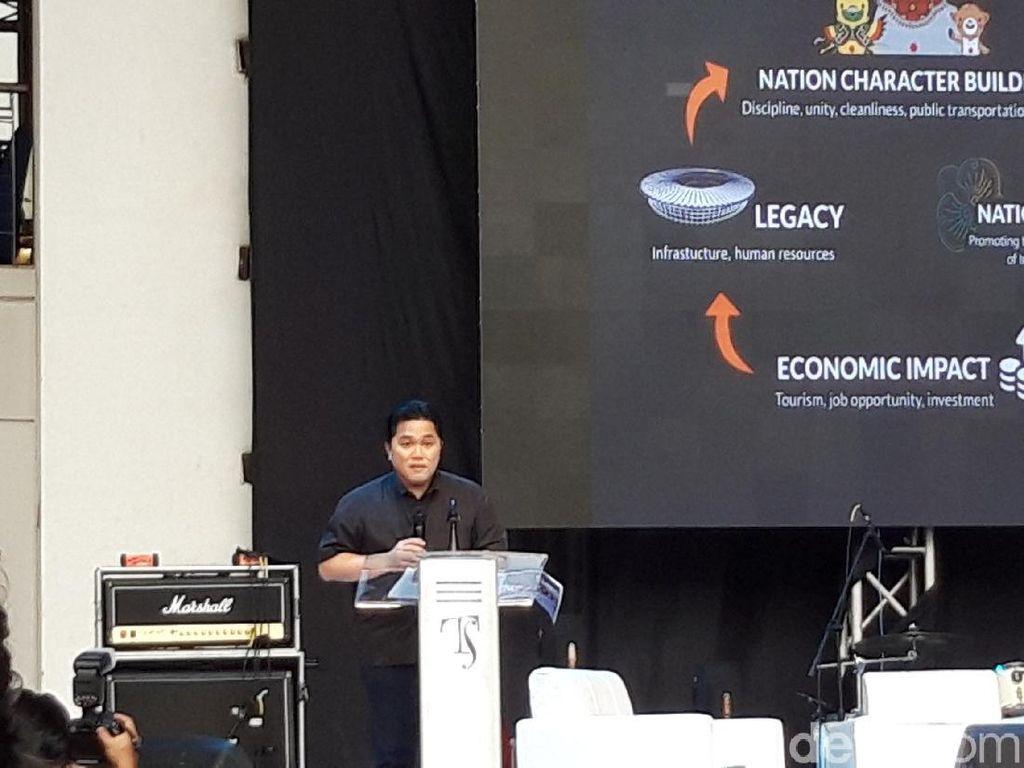 Hari Antikorupsi, Erick Thohir Soroti Pendidikan Pancasila