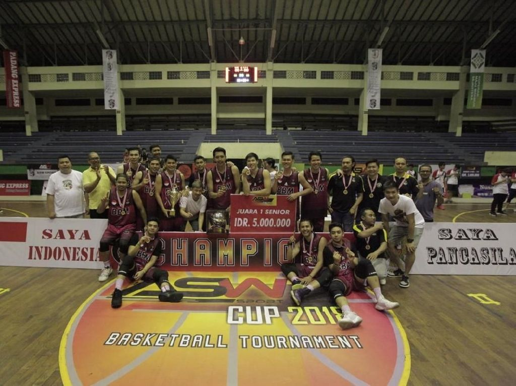 Semoga Lebih Banyak Turnamen Basket Usia Muda di Bali