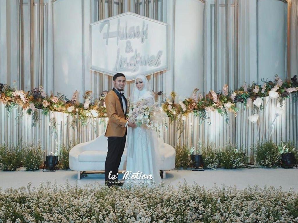 Cantiknya Lindswell Kwok di Hari Pernikahannya