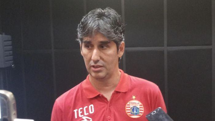 Pelatih Persija Jakarta, Stefano Cugurra Teco. (Foto: Yanu Arifin/Detikcom)