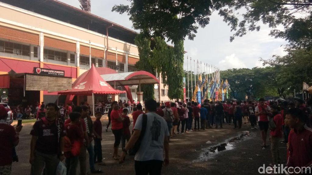 Paskhas TNI AU dan Brimob Jaga Ketat Laga PSM Vs PSMS