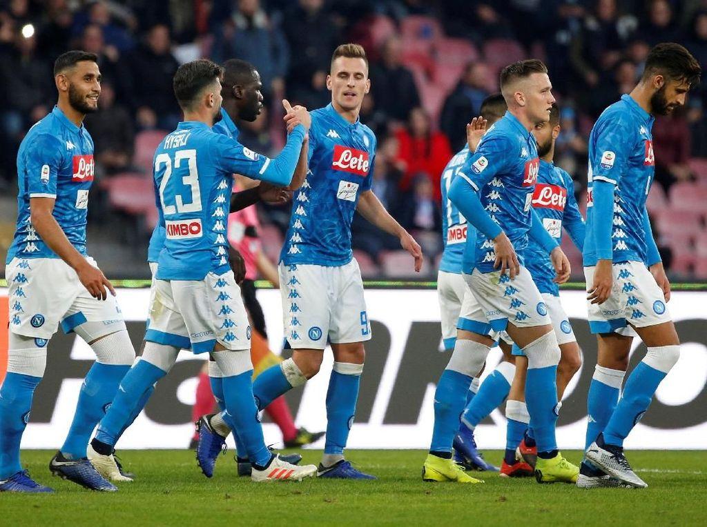 Ancelotti Sudah Puas dengan Komposisi Skuat Napoli