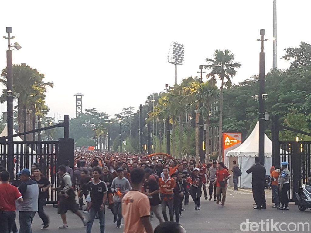 Persija Menang, Jakmania Dipersilakan Masuk ke Stadion