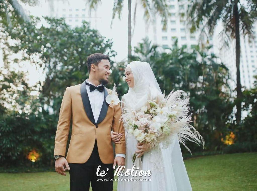 Lindswell Gelar Resepsi Pernikahan Tak Didampingi Keluarga