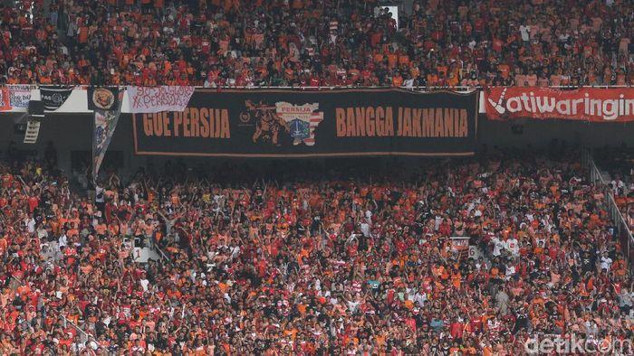 The Jakmania berharap Persija Jakarta tampil di kandang sendiri.  (Rifkianto Nugroho/detikSport)