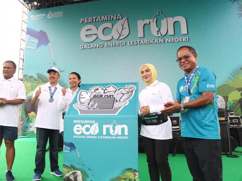 Donasi Lomba Lari untuk Konservasi Gajah & Elang Bondol Tembus Rp 1 M