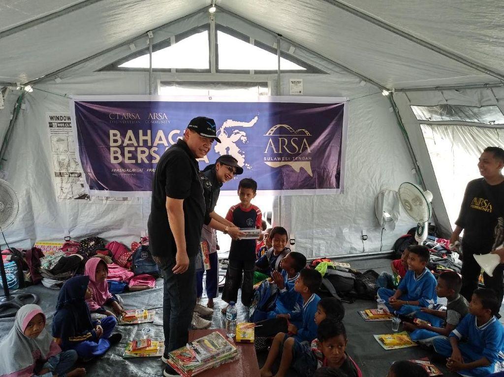 CT Corp Bangun 9 Sekolah dan 3 Masjid di Sulteng