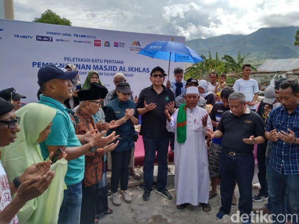 3 Masjid-9 Sekolah Dibangun, Ayo Bantu Sulteng Lewat Dompet Amal Transmedia