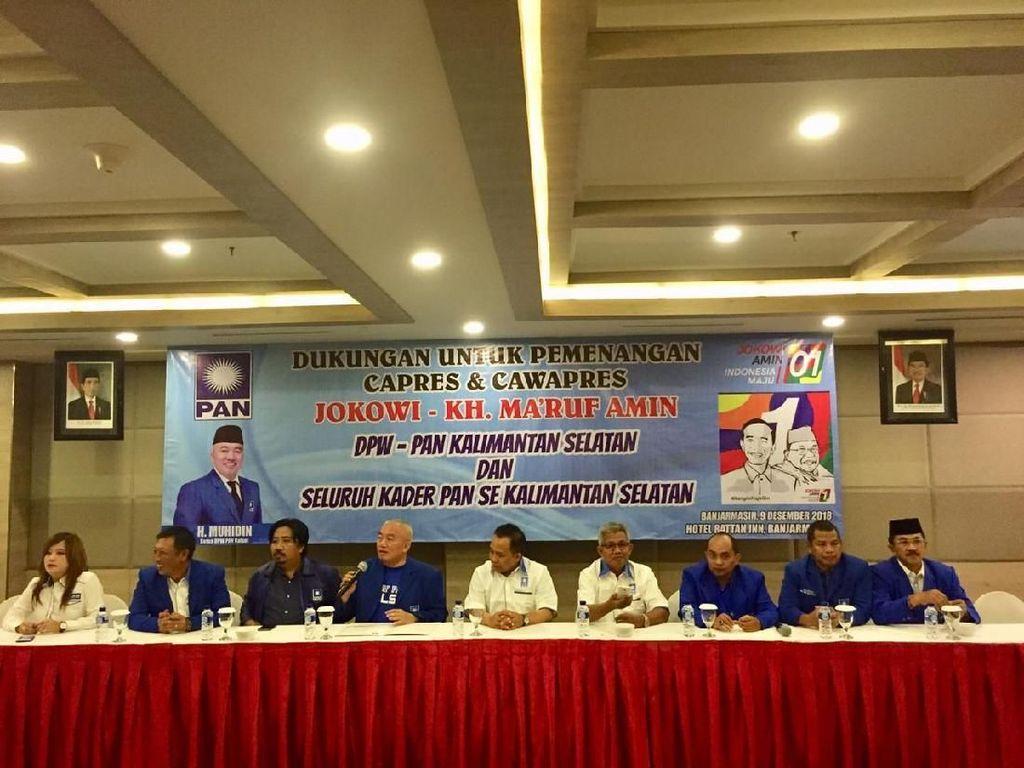Dicopot PAN karena Dukung Jokowi, Muhidin: Saya Pasrah