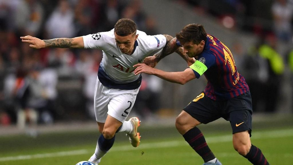 Tottenham Hadapi Mission Impossible di Camp Nou