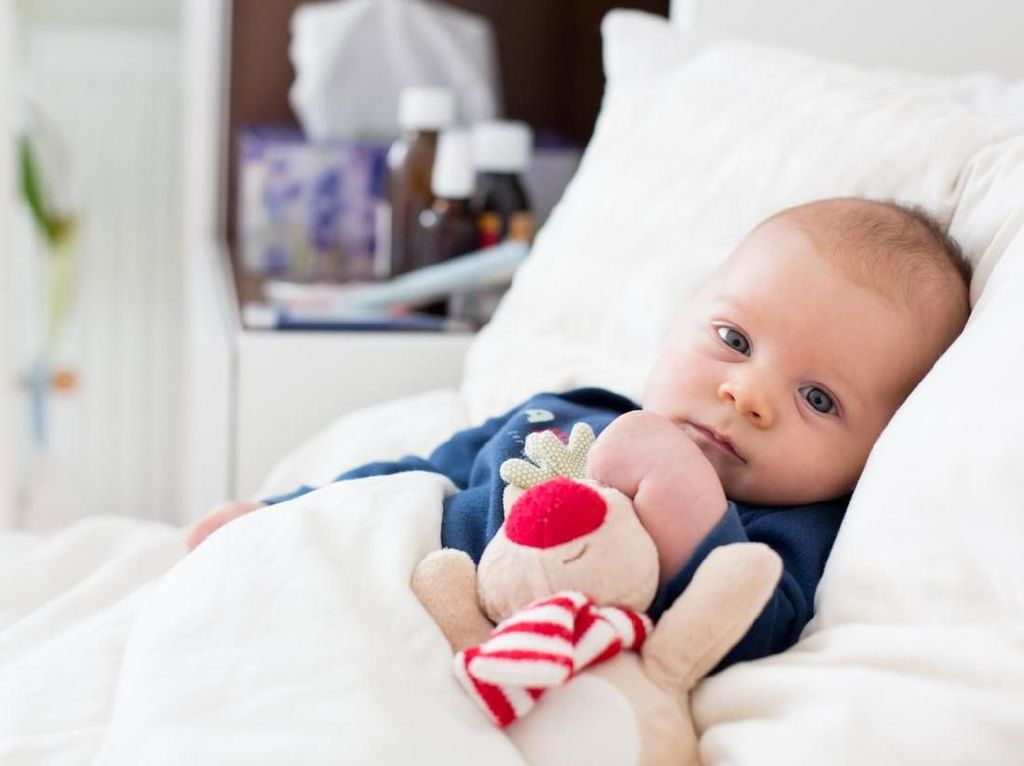 7 Cara Mengatasi Pilek Bayi, Sebab Flu Bisa Datang Usai Banjir