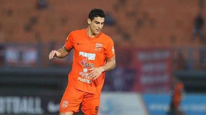 Matias Conti salah satu pemain yang absen saat Barito Putera vs Borneo FC. (Foto: Instagram @borneofc.id)