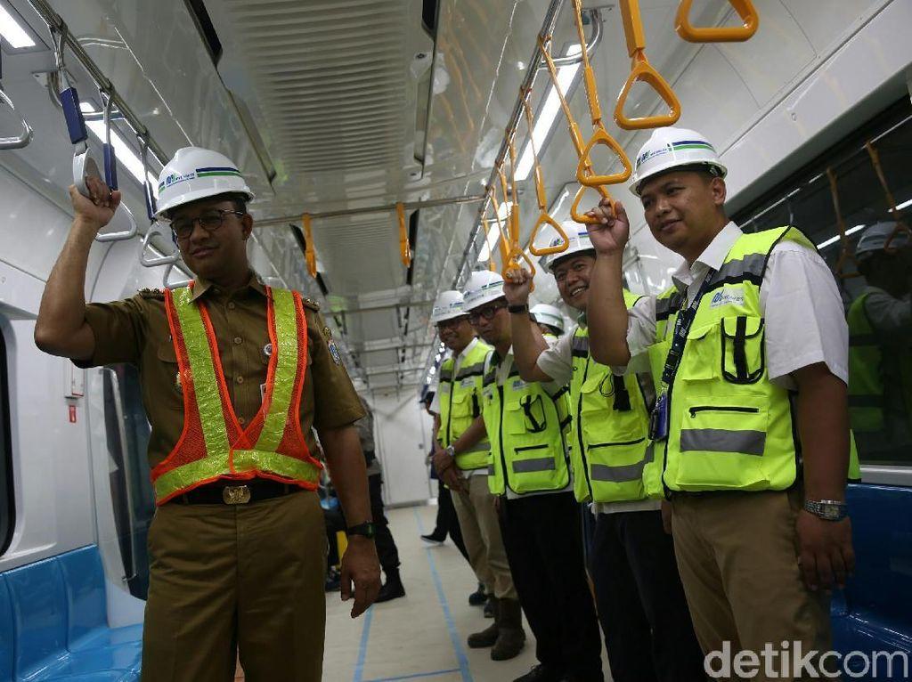 Tarif MRT Rp 1.000/Km Dinilai Bebani Warga, Anies: Itu Baru Ancer-ancer