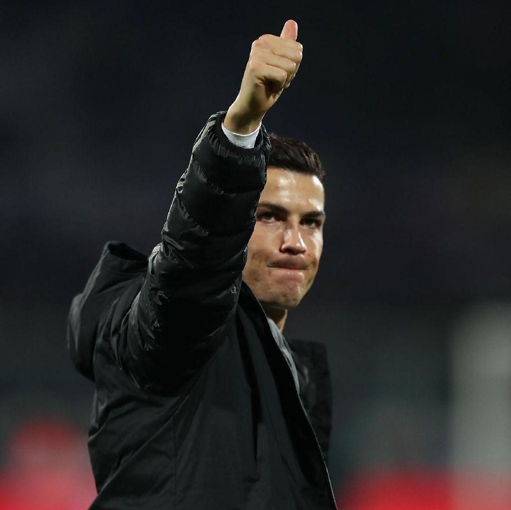 Ronaldo Tak Pernah Berubah di Mata Ancelotti