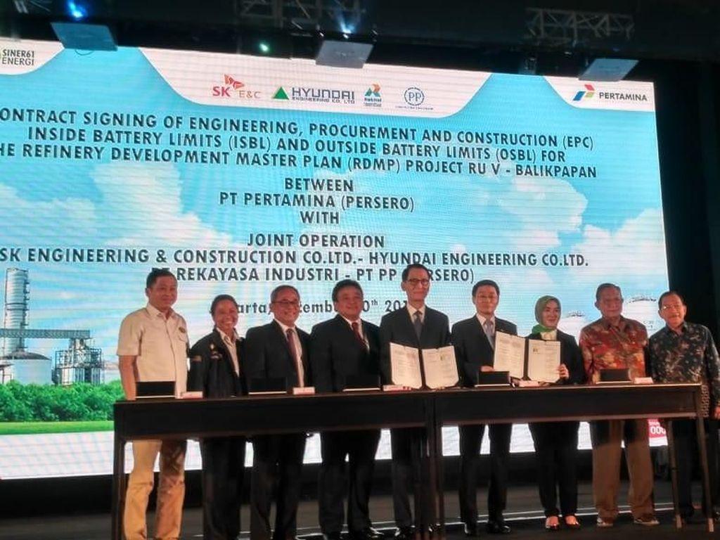 Makin Cerah, 2 Proyek Kilang di Kalimantan Segera Digarap