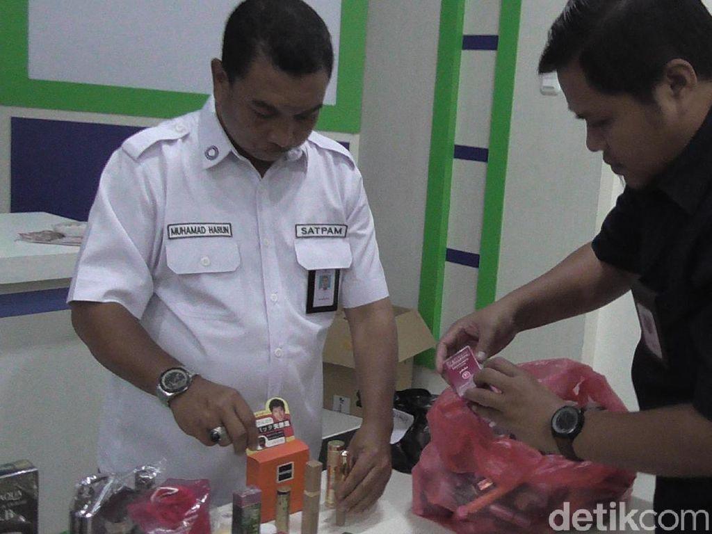 BPOM Sita Kosmetik Ilegal Senilai Rp 134 Juta di Gorontalo