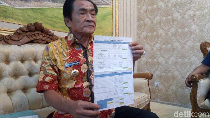 Budhi Sarwono, mantan Askab PSSI Banjarnegara. (Foto: Uje Hartono/detikSport)