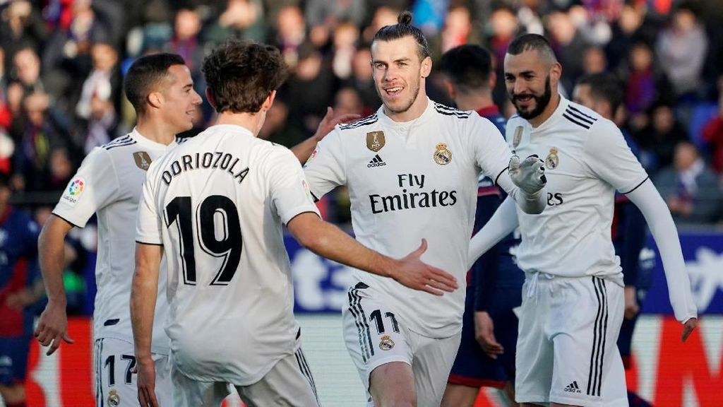 Madrid Susah Payah Kalahkan Tim Juru Kunci