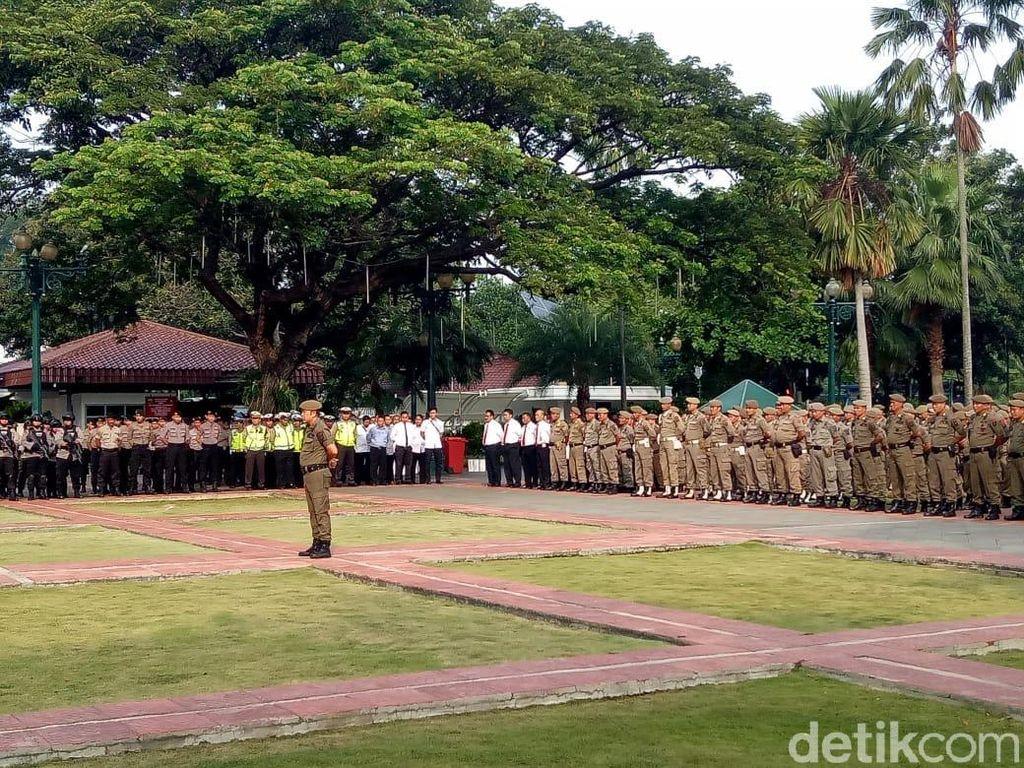 Satpol PP DKI Siagakan 1.830 Personel Jaga Perayaan Tahun Baru