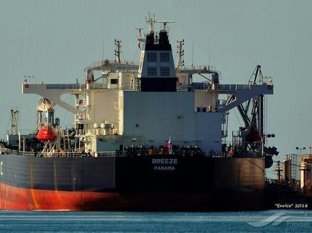 Kapal Berbendera Indonesia Ditabrak Kapal Tanker Panama di Kepri