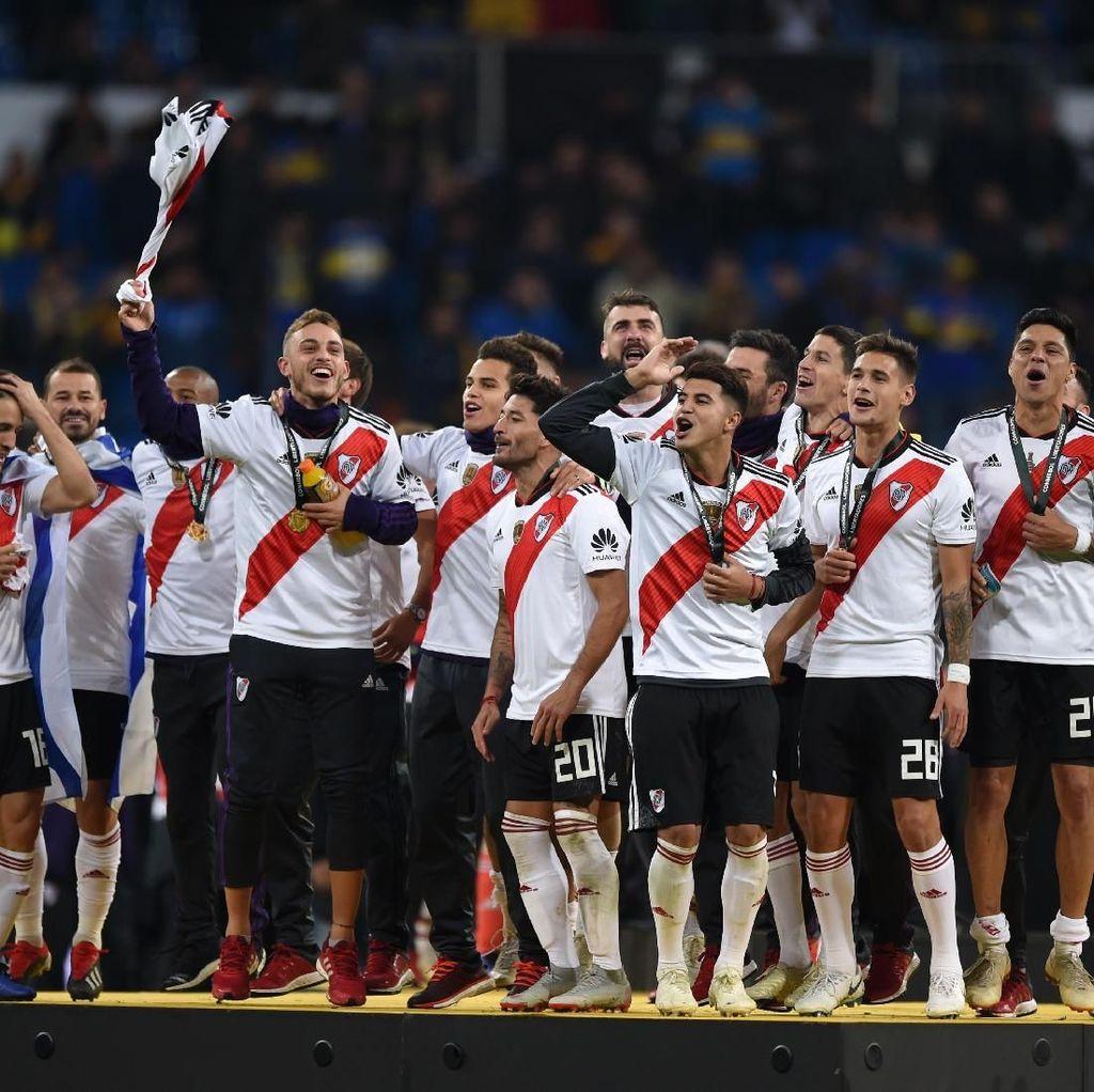 Menang Lewat Perpanjangan Waktu, River Plate Juara Copa Libertadores