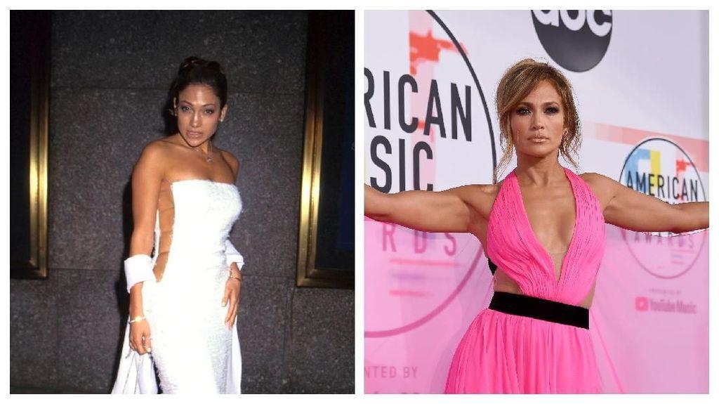 Makin Jadi! Transformasi Si Seksi Jennifer Lopez dari Masa ke Masa