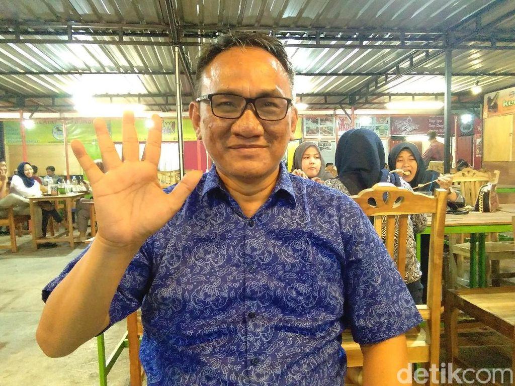 Andi Arief: Pelaku Perusakan Baliho SBY Ngaku Disuruh Pengurus PDIP