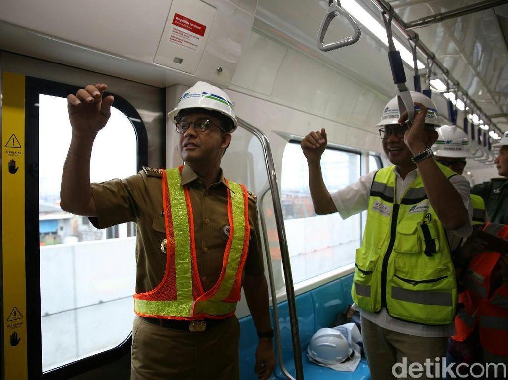 Anies akan Naik MRT untuk Berangkat dan Pulang Kantor