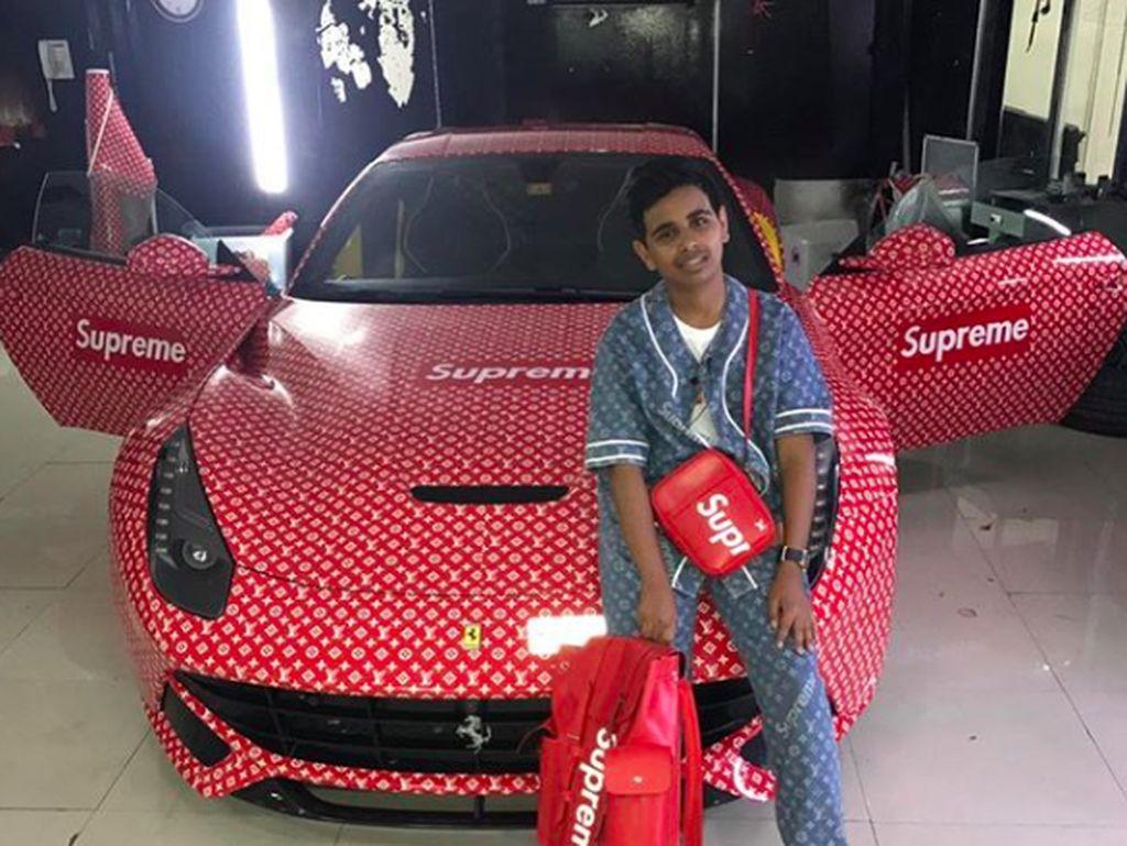 Gaya Tajir Melintir ala Instagrammer Remaja dari Dubai