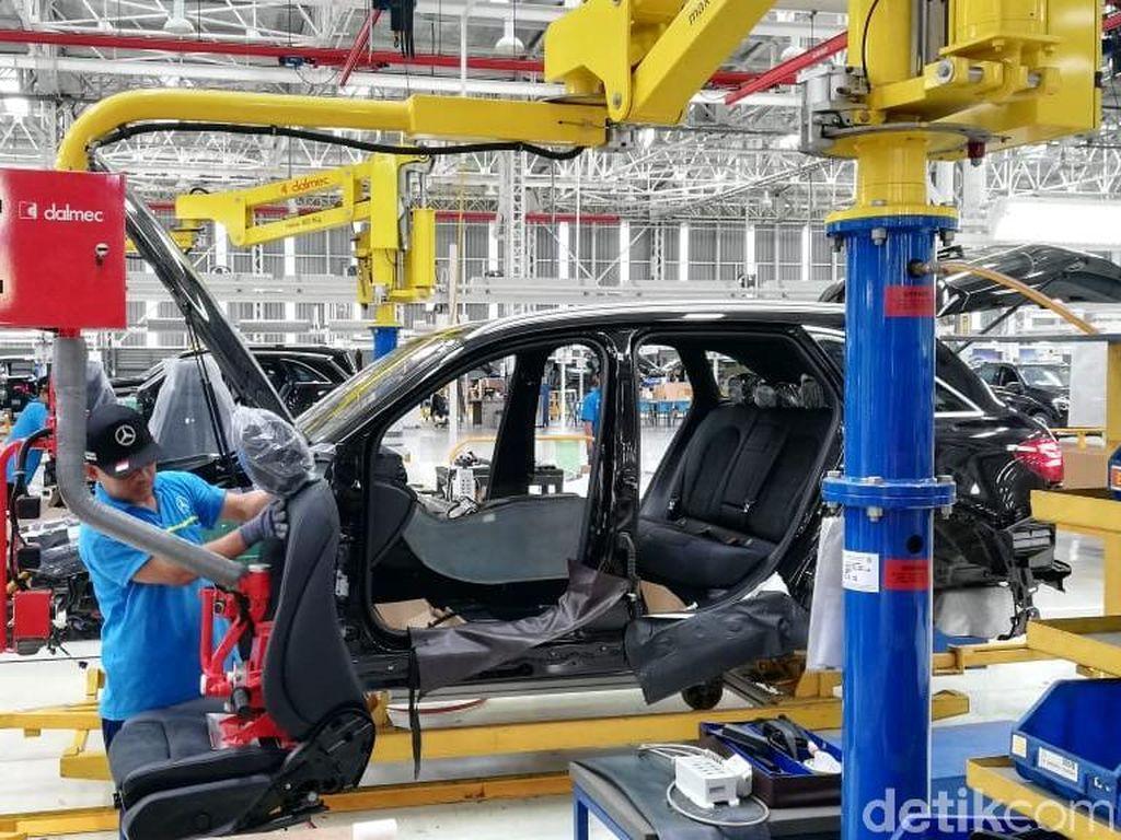 Mercedes-Benz Indonesia Mulai Terkena Dampak Krisis Pasokan Chip Semikonduktor