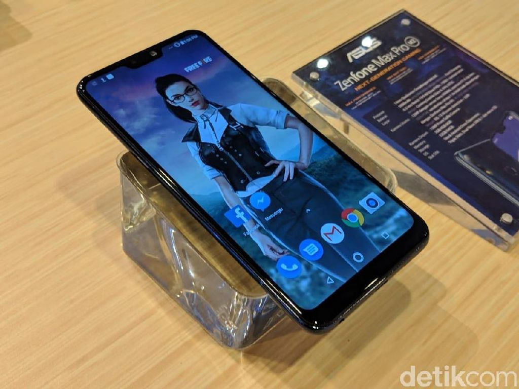 Kenalkan Ponsel Game Zenfone Max Pro M2