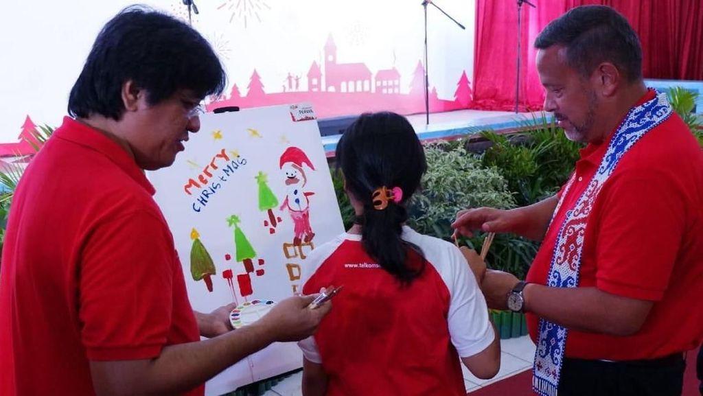 Berbagi Keceriaan Natal di Palangka Raya