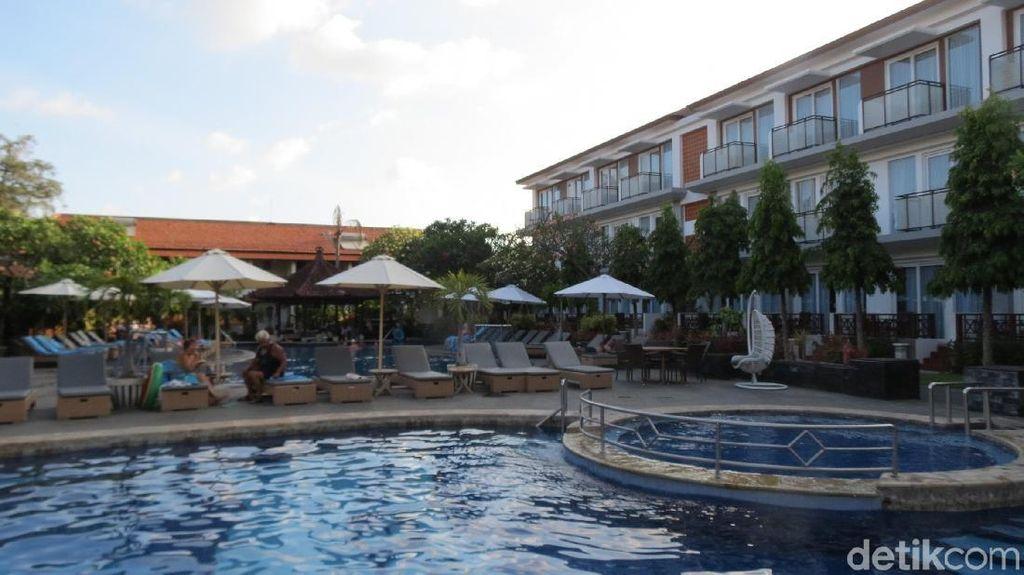 Foto: Hotel Tenang di Tengah Hiruk Pikuk Kuta Bali