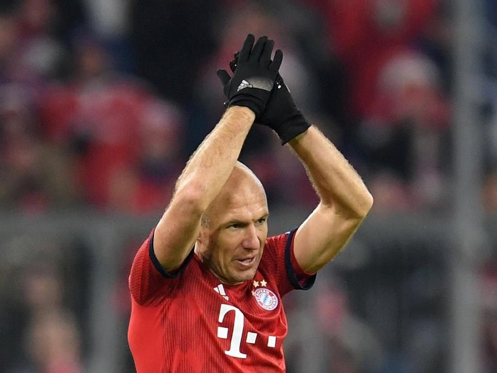 Arjen Robben Putuskan Pensiun