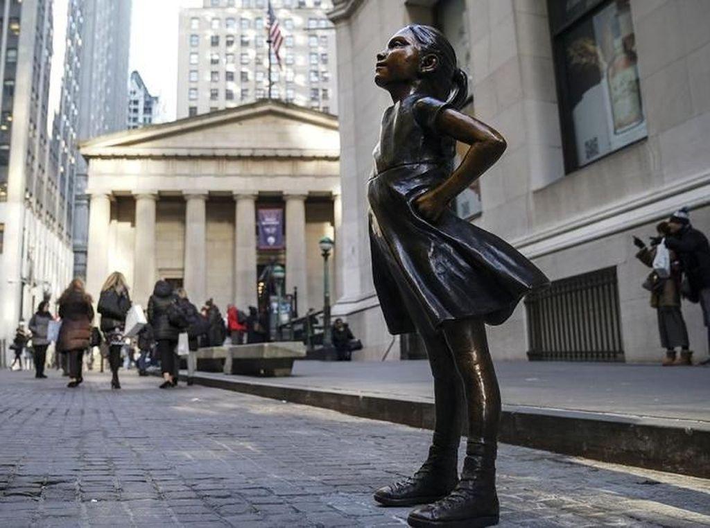Patung Fearless Girl Bermunculan di Seluruh Dunia, Salah Satunya Australia