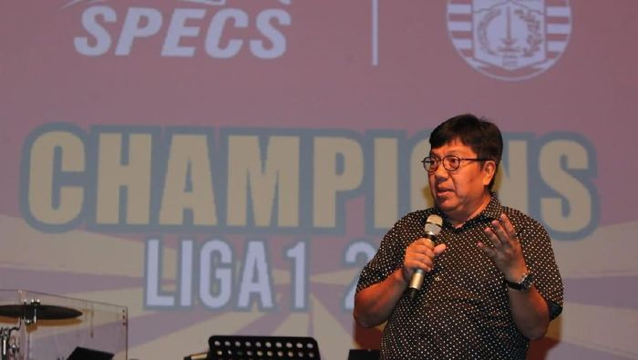 Mantan Direktur Utama Persija Jakarta Gede Widiade (dok, Specs)