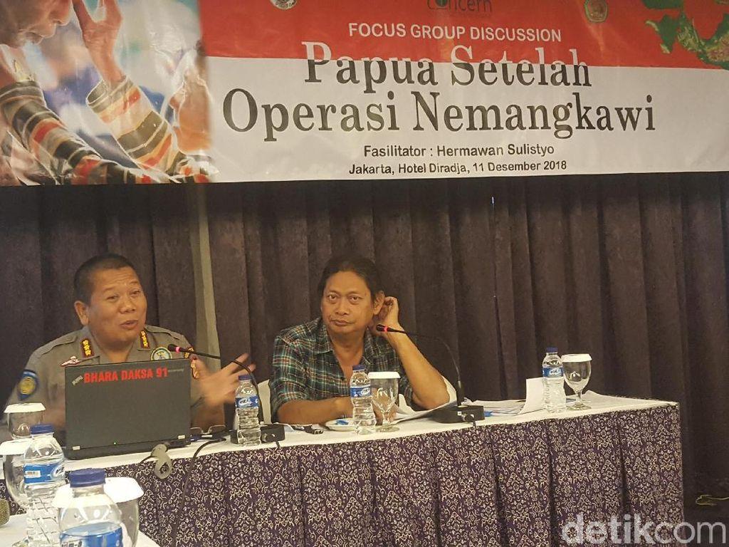 Perjuangan Binmas Noken Mengajar Diiringi Desing Senjata KKB