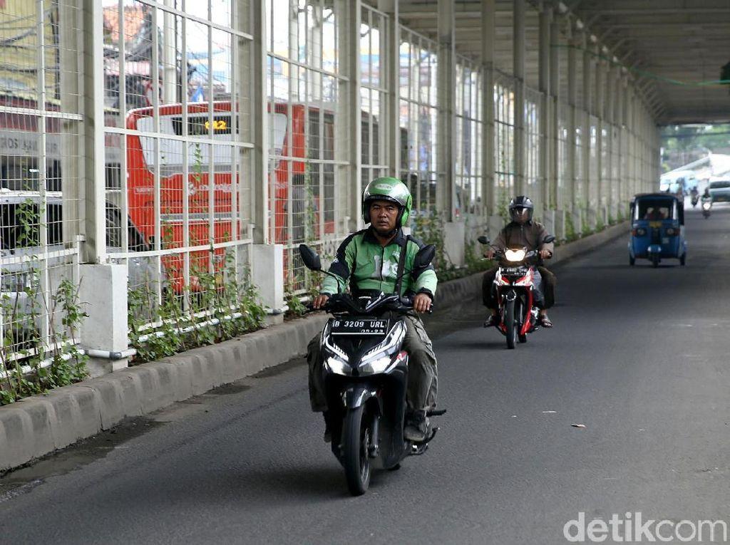 Skybridge Dibuka untuk Umum, Jalan Jatibaru Kini Lancar