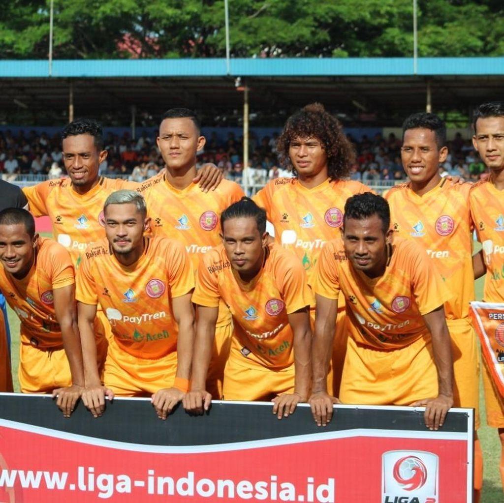 Gagal Naik Kasta, Persiraja Banda Aceh Rombak Skuat Tim