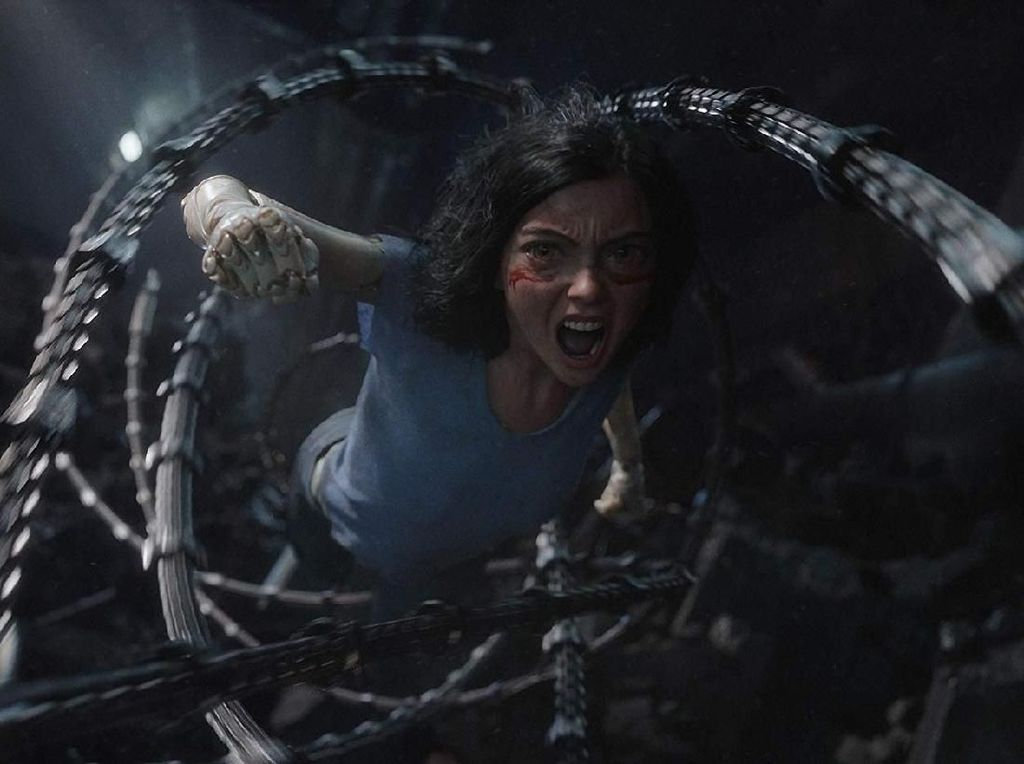 Alita: Battle Angel Ambisi James Cameron yang Terwujud