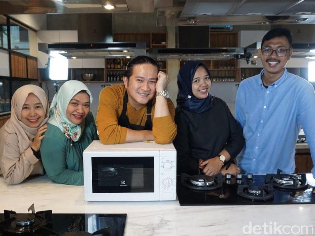 Keseruan Masak Back to Back Challenge Bersama Chef Chandra