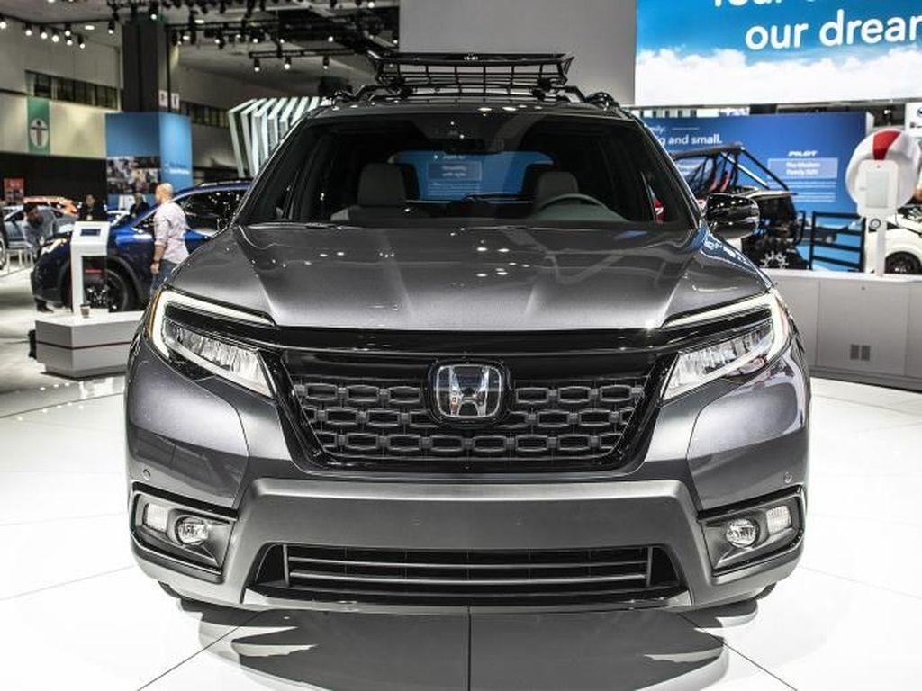 Honda CR-V Punya Kakak, Begini Tampangnya
